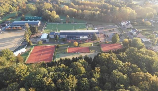 Het complex van de Blue Lions Tervuren vanuit de lucht Foto: Blue Lions Tervuren