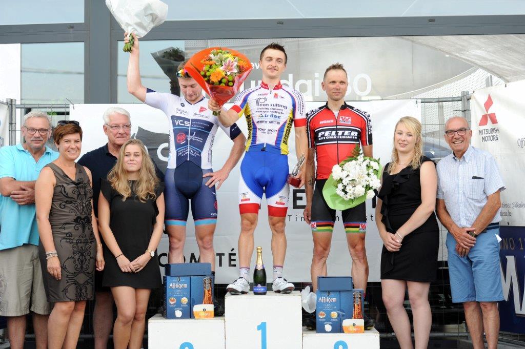 Wielercomité Sportraad Tienen richt tweede rit Ronde van Vlaams-Brabant in Goetsenhoven in
