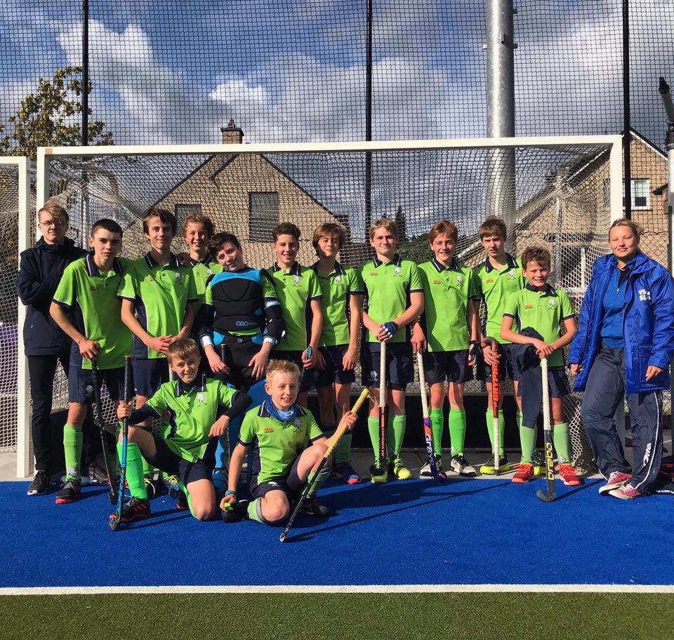 U16 boys Merode Grimbergen durven uithalen