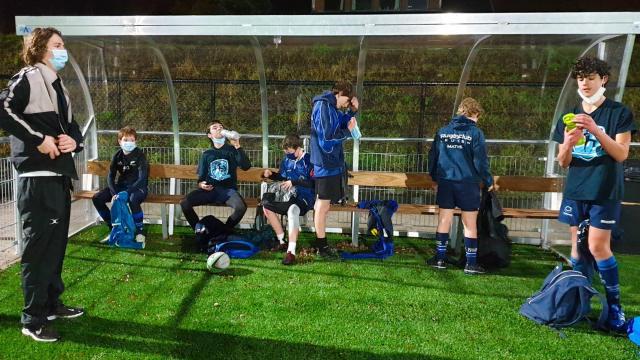 De U18 van Rugby Club Leuven
