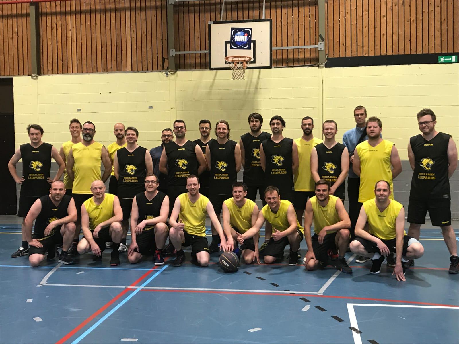 Basketbalclub Hoegaarden Leopards bijna aan eerste lustrum toe. Nieuwe spelers welkom!