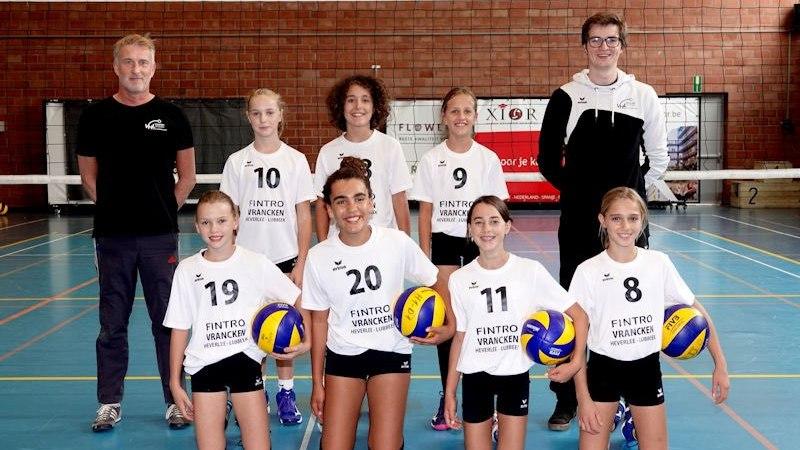 U13 meisjes BDO Haasrode-Leuven zijn Belgische top