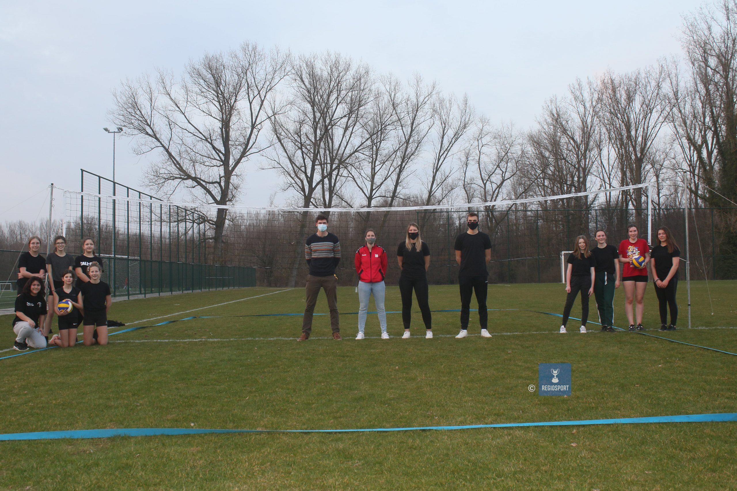Feniks Haacht scoort met grasvolleybal bij jeugd, elke dag training mogelijk!