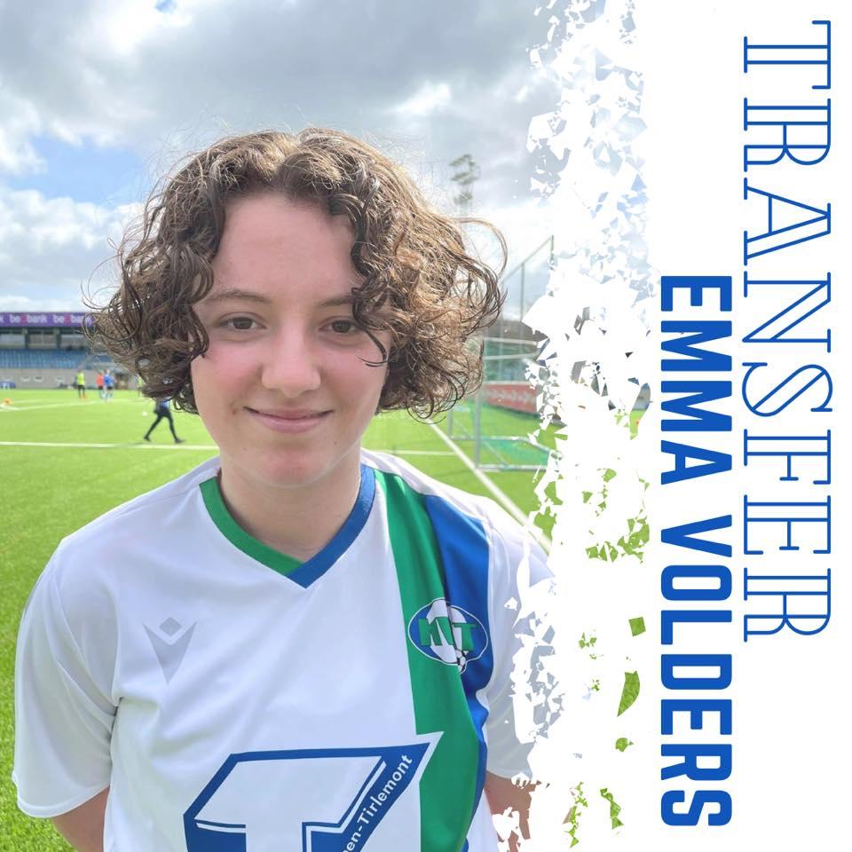 Emma Volders versterkt het middenveld van KVK Tienen