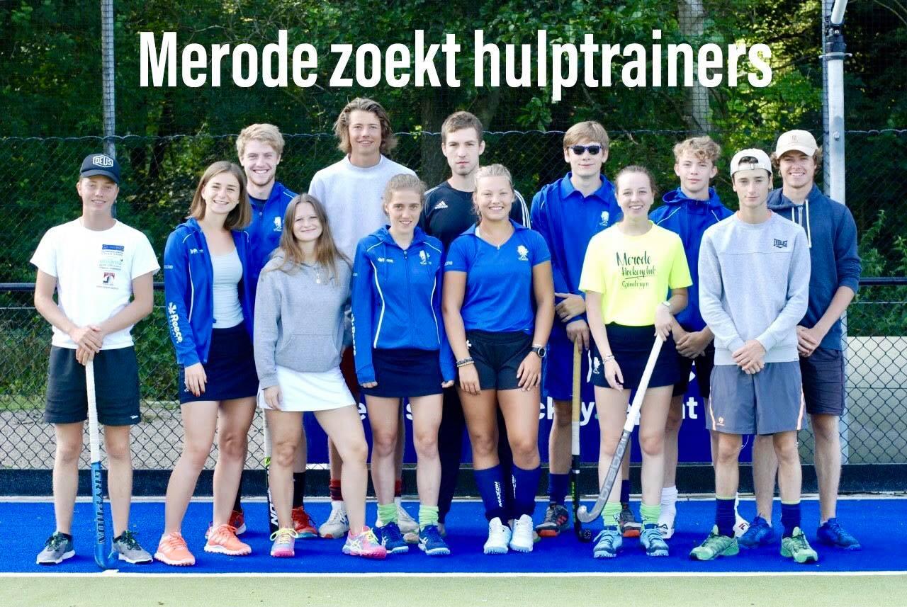 Merode Hockey Grimbergen is op zoek naar gemotiveerde hulptrainers!