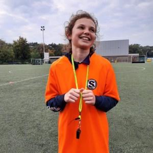 Annabel Cuyvers is één van de jonge gemotiveerde refs van de Stix