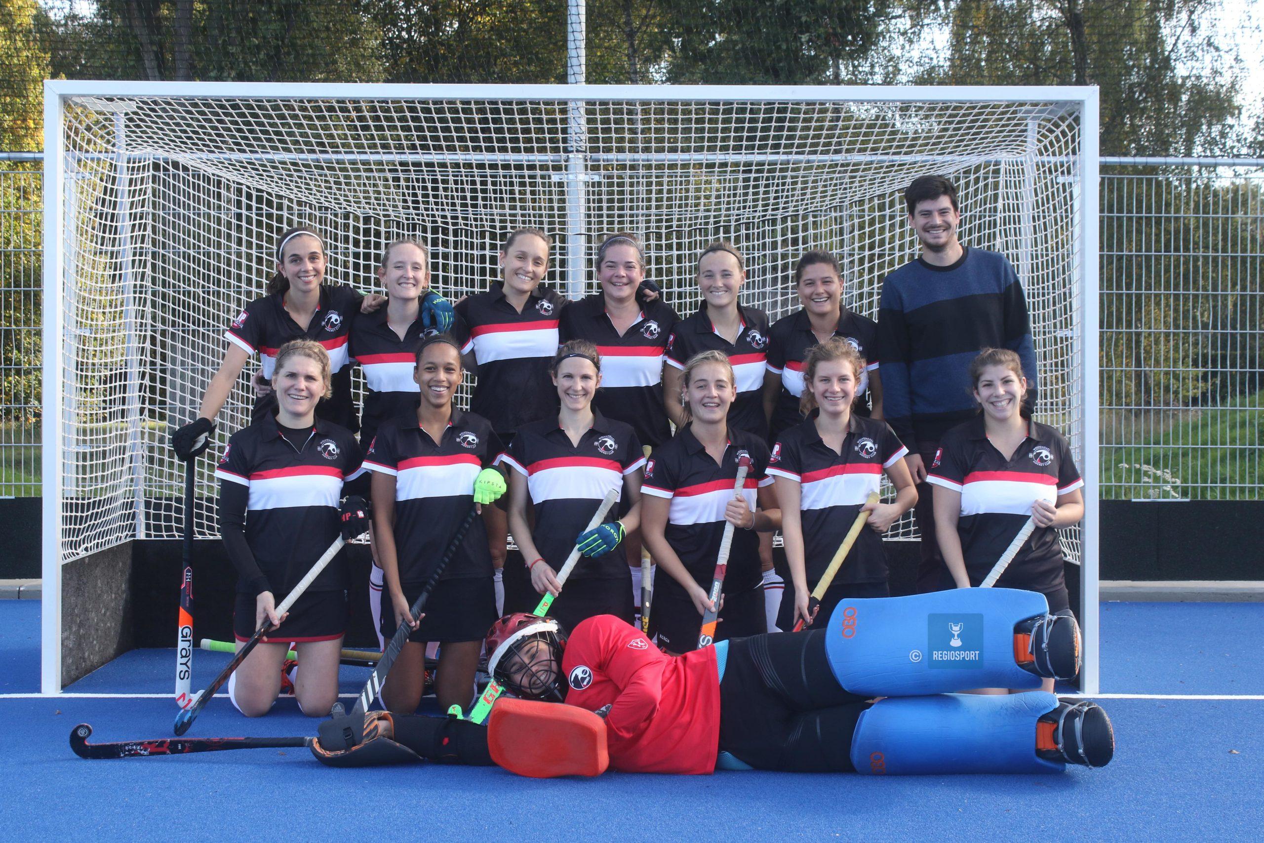 Dames 1 van Wolvendael Hockey Club leven dubbel gemotiveerd naar volgend seizoen toe!
