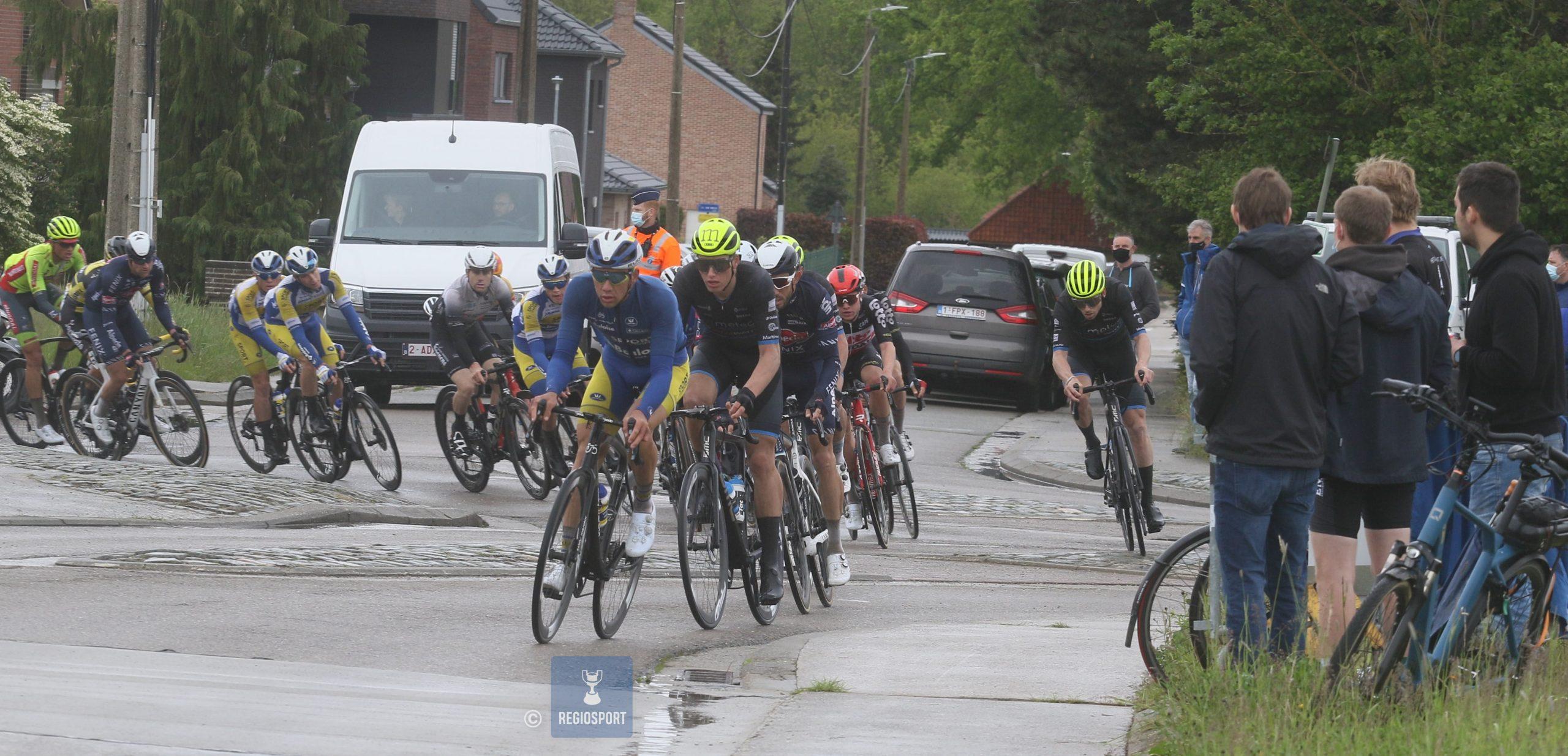 Kenneth Van Rooy reed behoorlijke thuiskoers in de GP Vermarc