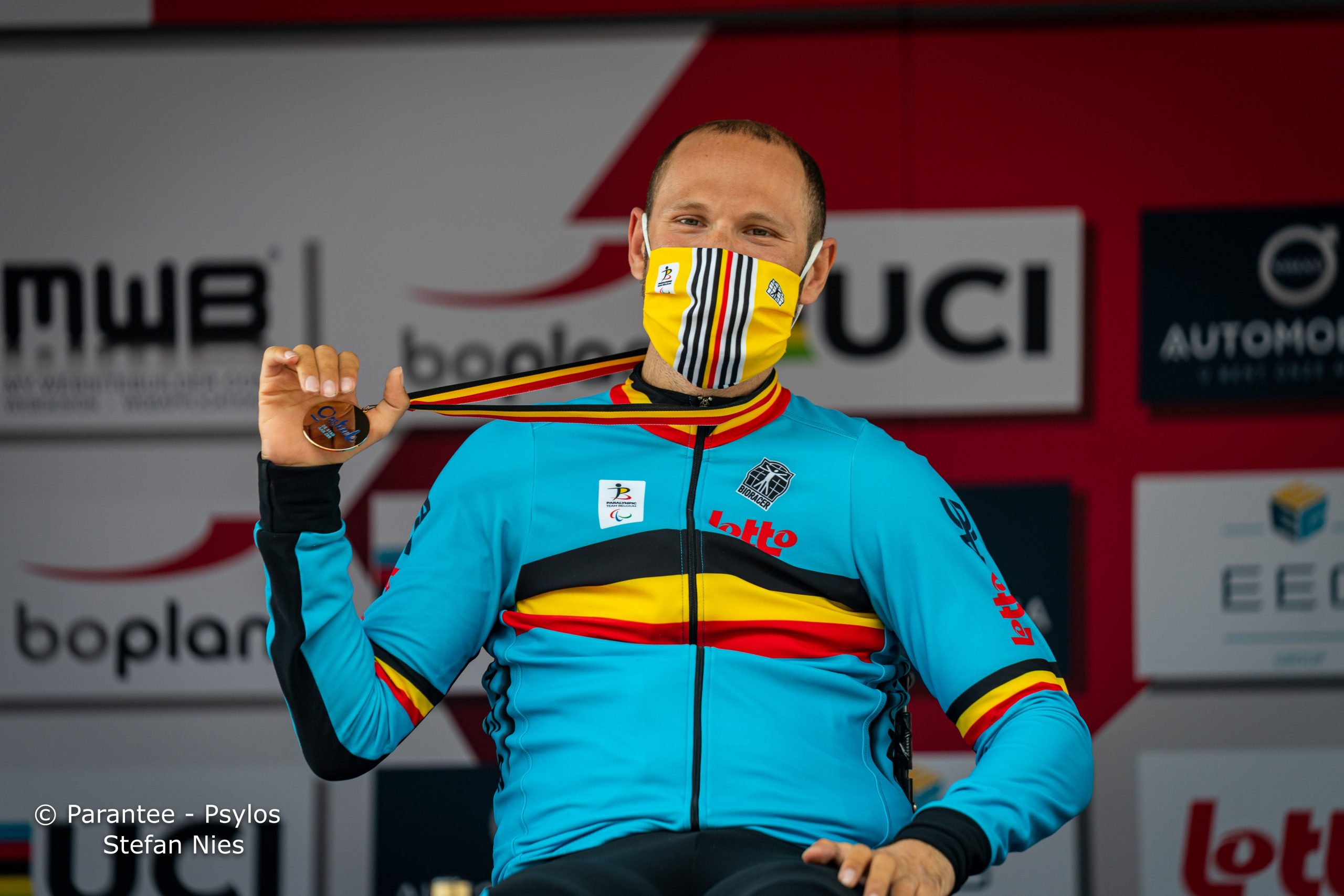 Belgen pakken vier tijdritmedailles op wereldbeker G-wielrennen in Oostende