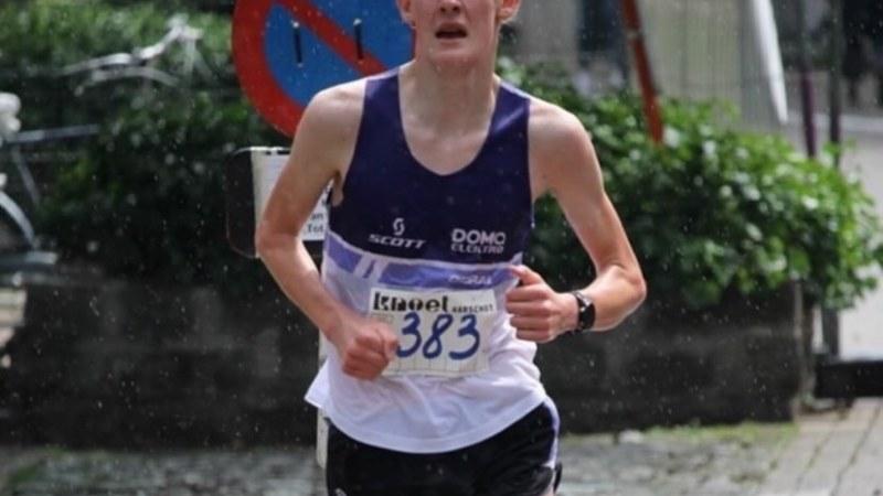 Triatleet Siebe Philips maakt progressie in zijn lopen