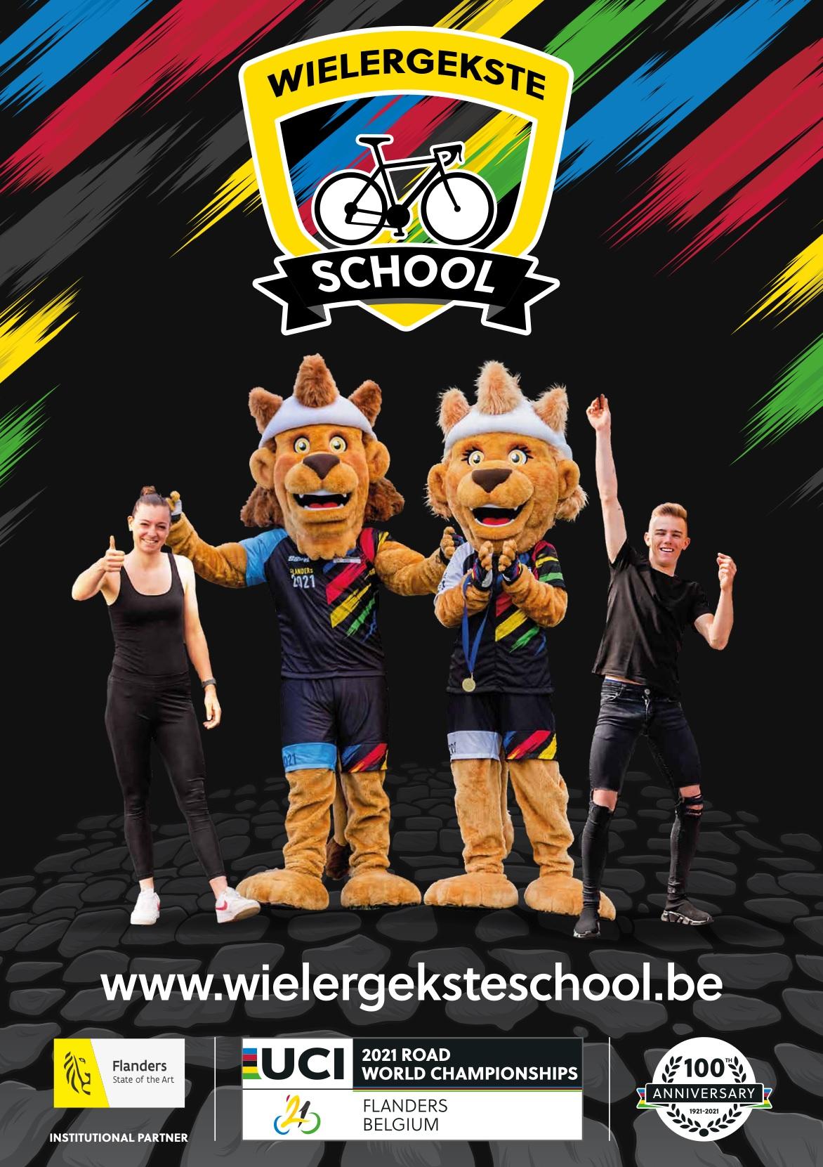 Het WK wielrennen komt naar jouw school!