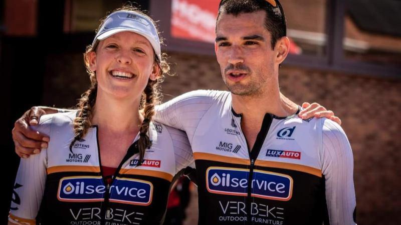 Triatlete Lore Vanclooster benieuwd naar wat nog komen moet!