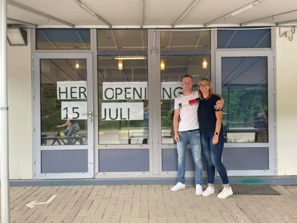 Ex-wielrenner Jens Vanderheyden baat vanaf 15 juli frituur 't Zoet Water uit!