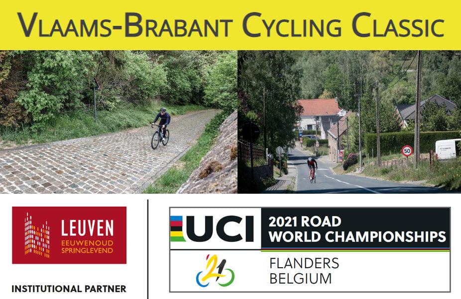 Ontdek de WK hellingen op de Vlaams-Brabant Cycling Vlaanderen Classic
