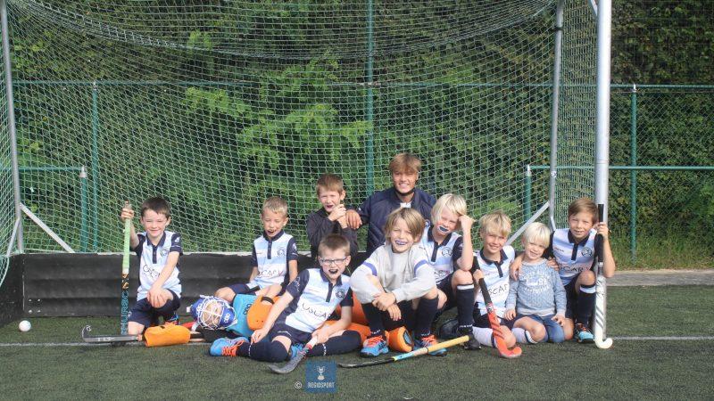 U10 boys 1 Tigers Keerbergen zouden graag promoveren!