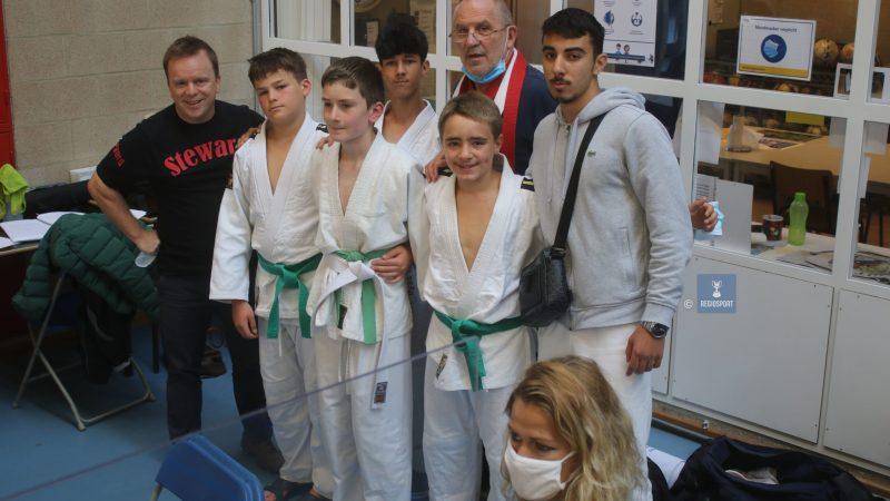 Open Brabant judotoernooi in Tervuren lokte meer dan 500 kampers