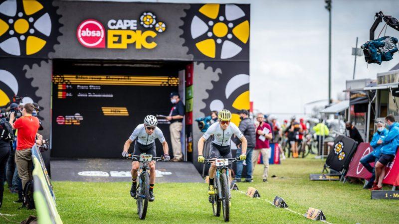 Frans Claes en Jens Schuermans staan vierde na ijzersterke proloog in Cape Epic