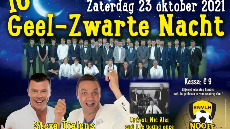 Zestiende Geel-Zwarte Nacht van Lozenhoek Keerbergen met Steve Tielens en Philip D'haeze!