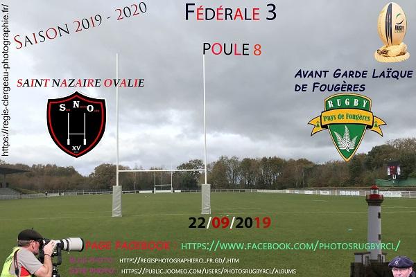22-09-19 F3 Avant Garde Laïque de Fougères – Saint Nazaire Ovalie N°17 Pica