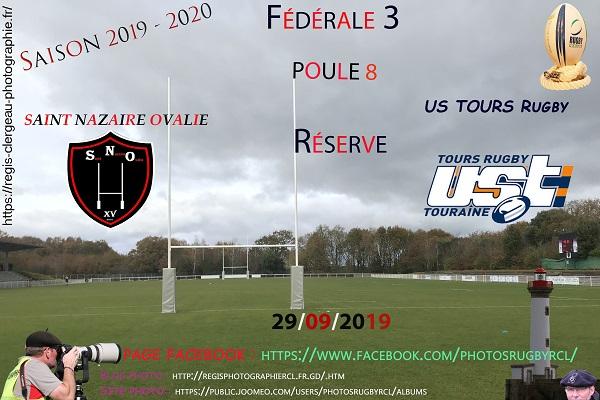 29-09-19 F3 Réserve Saint Nazaire Ovalie – US TOURS Rugby N° 1 pica