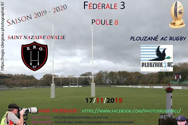 17-11-19 F3 Saint Nazaire Ovalie – Plouzané AC Rugby N°26 Pica