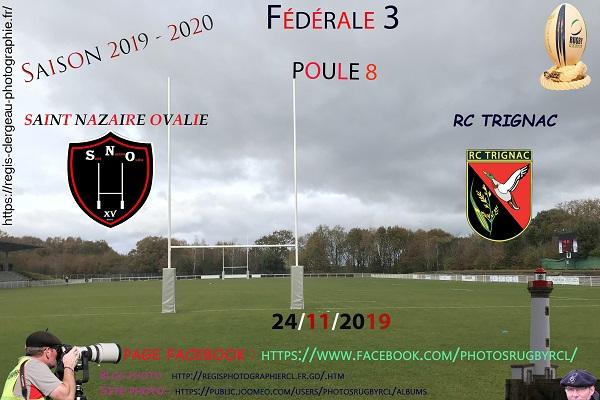 24-11-19 F3 Rugby Club Trignac – Saint Nazaire Ovalie N°1 Pica