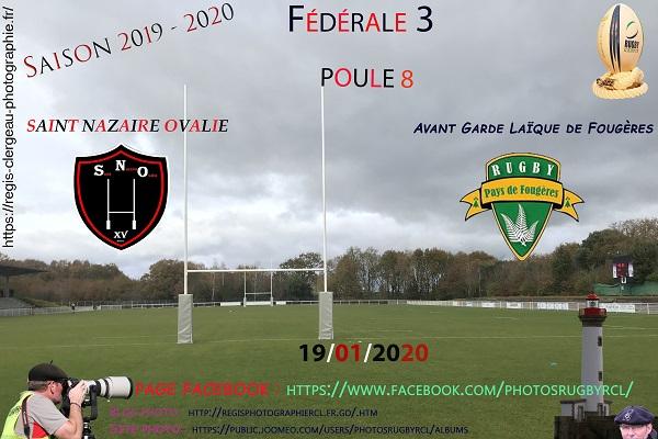 19-01-20 Saint Nazaire – Avant Garde Laïque de Fougères N°1 Pica