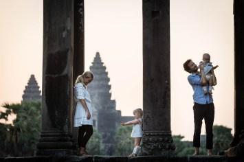 Family Photo Angkor
