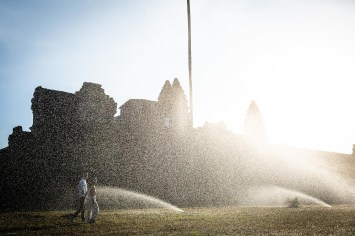 Late afternoon light in Angkor Wat
