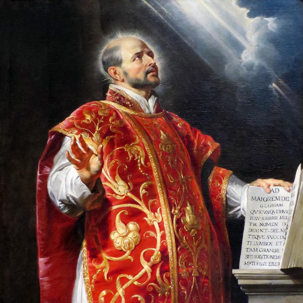 St Ignatius of Loyola (1491-1556)