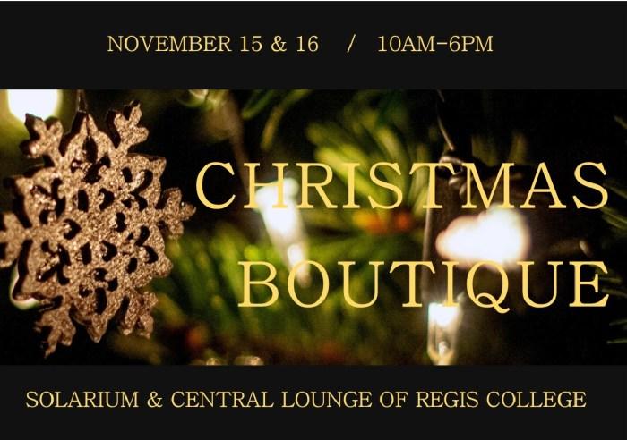 Christmas Boutique 2017