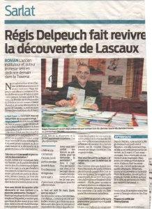 Régis Delpeuch fait revivre la découverte de Lascaux