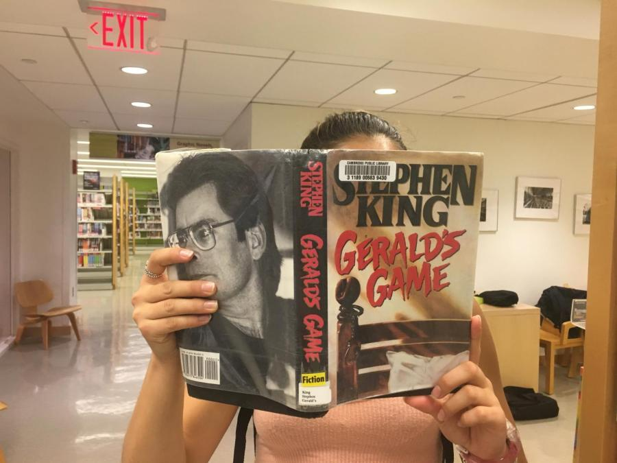 The+movie+Gerald%27s+Game+is+based+on+the+book+by+Stephen+King.