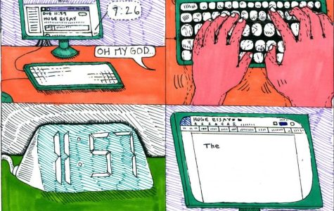 Essay Writing Comic