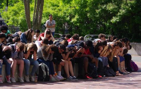Santa Fe, Texas, School Shooting Prompts CRLS Walkout