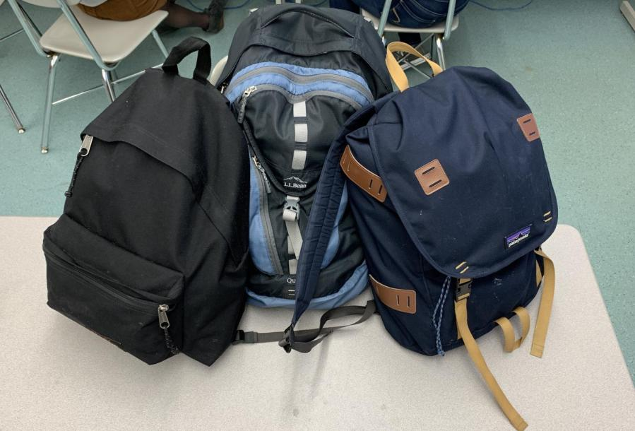 The+average+CRLS+backpack+weight+is+16+pounds%2C+according+to+a+survey+of+45+students.