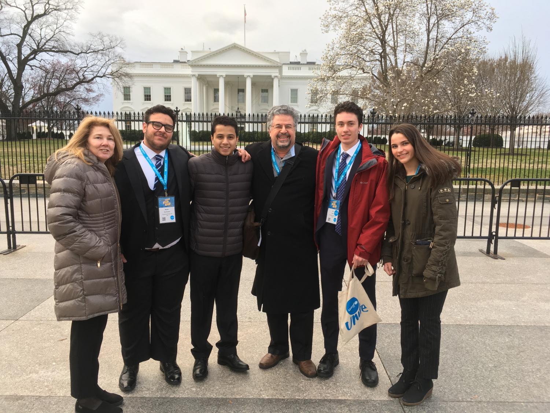 UNICEF Trip Takes on DC