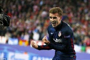 Satu Gol Griezmann Bawa Atletico Meraih Kemenangan
