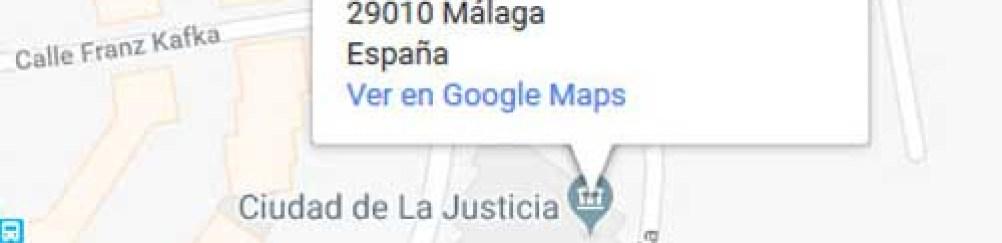 mapa registro civil malaga