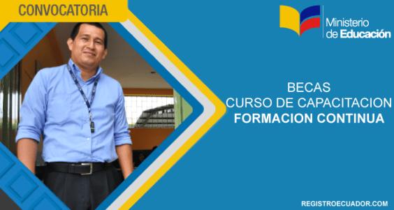 becas-formacion-continua-ministerio-de-educacion-ecuador-2017-registroecuador.com