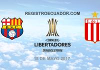 Barcelona-SC-vs-Estudiantes-18-mayo-2017-En-Vivo-Copa-Libertadores--registroecuador