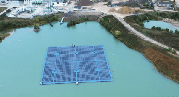 Spain's Isigenere sets up Bavaria's largest floating solar project for Climagy