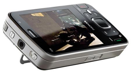Nokia N96 with kickstand