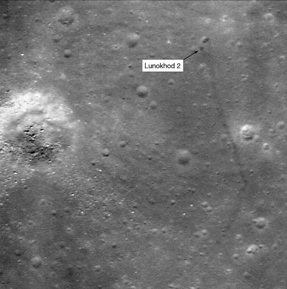 Lunokhod 2 par LRO