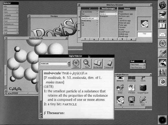 NeXT System interface
