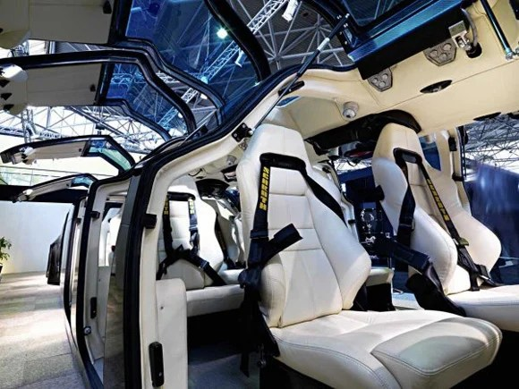 View of the Superbus with its doors open.Pic: Superbus