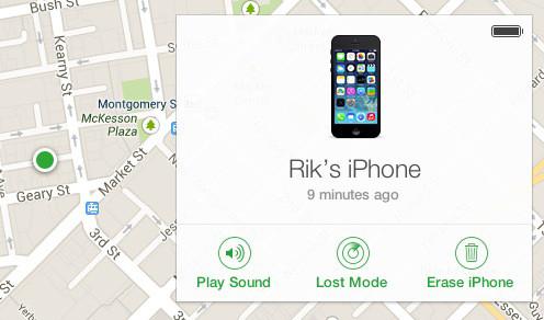 find lost phone knackon.com