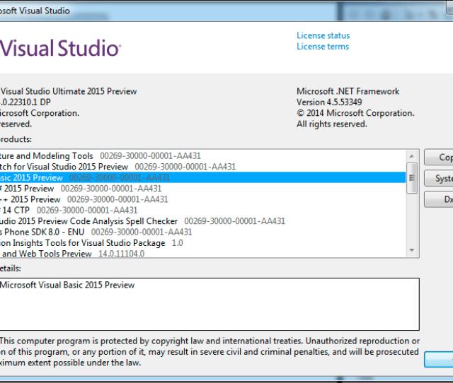 Visual Basic 14 Microsoft Visual Basic 2015
