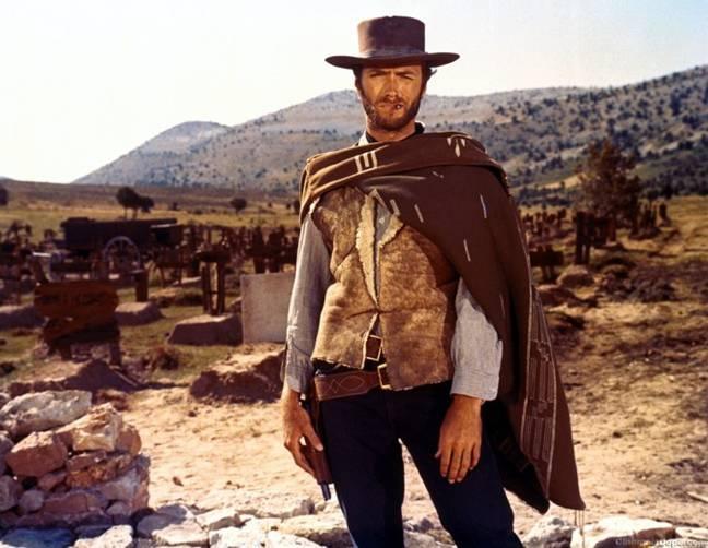 Clint Eastwood bounty hunter