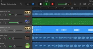IK Multimedia AmpliTube on GarageBand